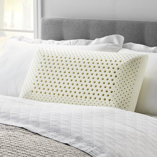 Link to LUCID Comfort Collection Dual Zone Memory Foam Pillow - White Similar Items in Pillows