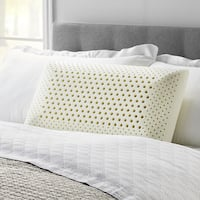 LUCID Comfort Collection Dual Zone Memory Foam Pillow