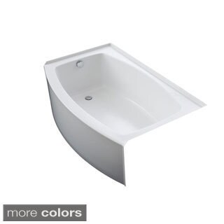 Kohler Expanse 5-foot Left-hand Drain Acrylic Bathtub