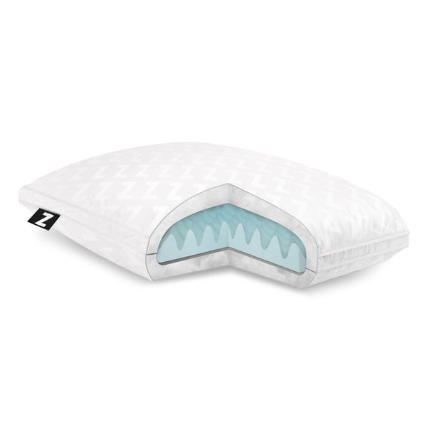Z Convolution Gelled Microfiber with Removable Memory Foam Pillow