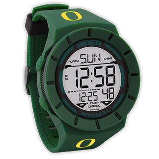 Rockwell Coliseum - Oregon Ducks Green Watch