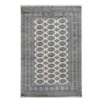 Herat Oriental Pakistani Hand-knotted Bokhara Wool Rug (4'2 x 6'1) - 4'2 x 6'1