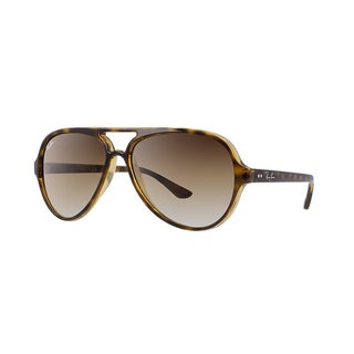 Ray-Ban Cats Classic Sunglasses Tortoise/ Light Brown Gradient 59mm - Tortoise