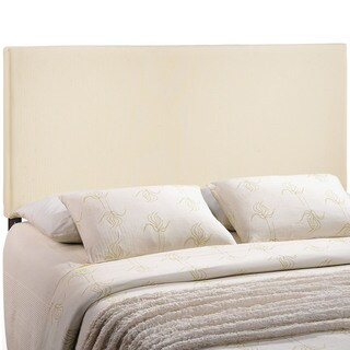 Zone Upholstered Off-white Headboard