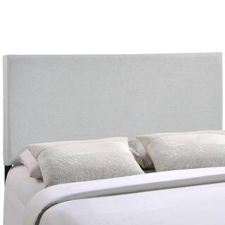 Laurel Creek Nora Grey Upholstered Headboard