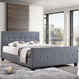 Soubrette Grey Upholstered Bed Frame
