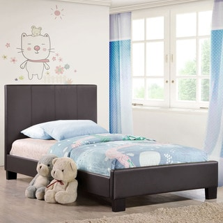 Alex Fabric Bed Frame in Brown