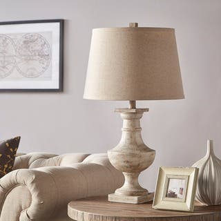 Hyperion Sanded Off-white 1-light Accent Table Lamp by iNSPIRE Q Artisan|https://ak1.ostkcdn.com/images/products/10202930/P17326643.jpg?impolicy=medium