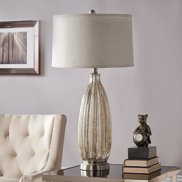 Kaden Glass 1-light Accent Table Lamp by iNSPIRE Q Classic