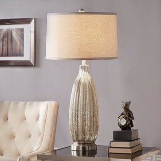 TRIBECCA HOME Kaden Glass 1-light Accent Table Lamp