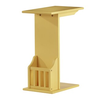 Woodbridge Accent Magazine Rack Chairside Table by iNSPIRE Q Bold