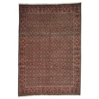 Hand-knotted All Over Design Persian Bidjar Oriental Rug (6'8 x 9'8)