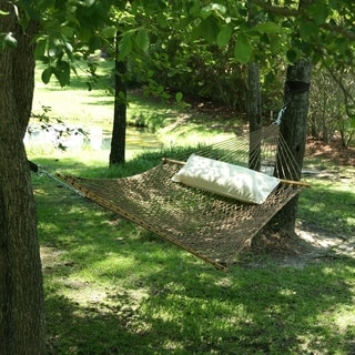 Antique Brown Large DuraCord Rope Hammock (Stand Not Included)
