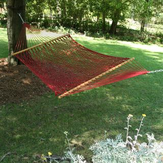 Garnet Large DuraCord Rope Hammock (Stand Not Included)