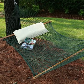 Green Large DuraCord Rope Hammock