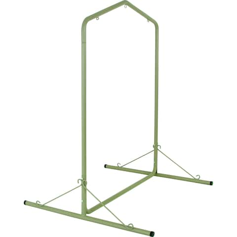 Taupe Steel Hammcok Swing Stand