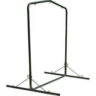 Forest Green Steel Hammock Swing Stand