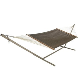 Bronze Large Open Weave Hammock (Stand Not Included)