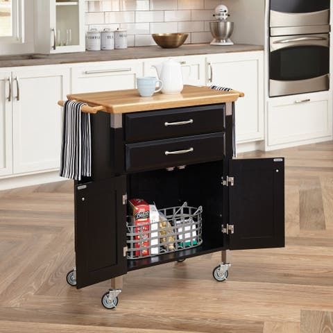 Porch & Den Coronado Madison Kitchen Cart