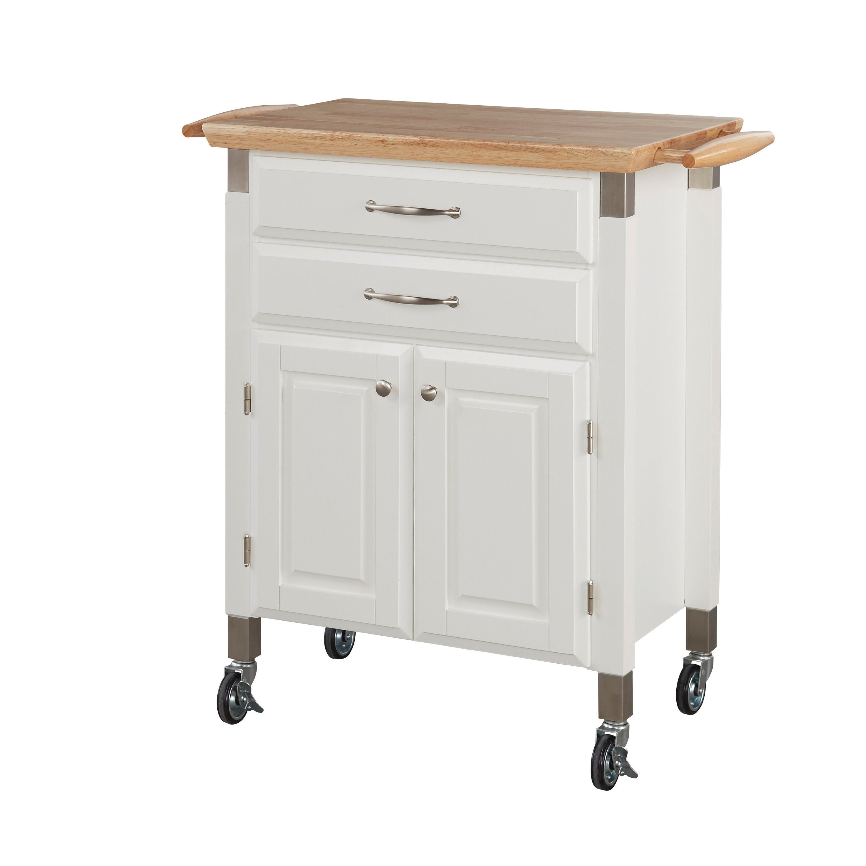 Dolly Madison Kitchen Cart by Home Styles (White) from $217.99 - Nextag