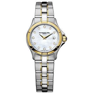 Raymond Weil Women's 9460-SG-97081 'Parsifal' Diamond Two tone Stainless steel Watch