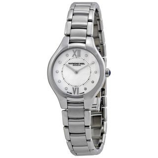 Raymond Weil Women's 'Noemia' Diamond Silver Stainless steel Watch