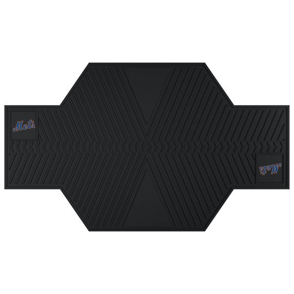 Fanmats New York Mets Black Rubber Motorcycle Mat