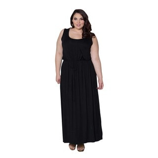 Sealed with a Kiss Women's Plus Size 'Valerie' Maxi Dress