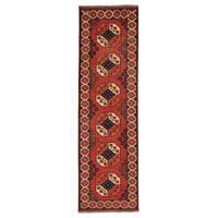 Handmade Runner Afghan Ersari Oriental Rug (2'9 x 9'6)