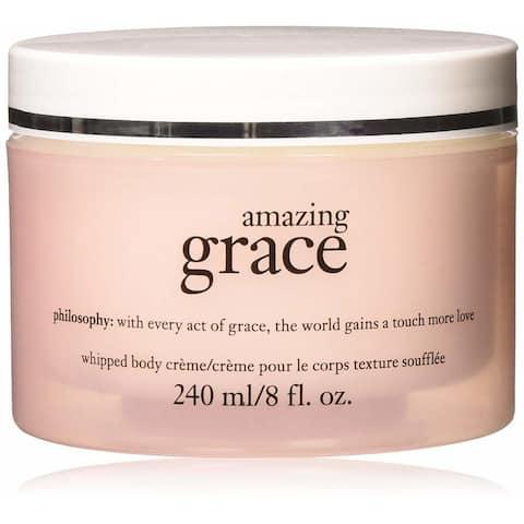 Philosophy Amazing Grace 8-ounce Whipped Body Cream - White