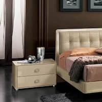 Luca Home Ivory Nightstand