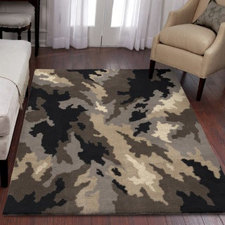 "Utopia Ivan Grey Area Rug (3'11"" x 5'5"")"