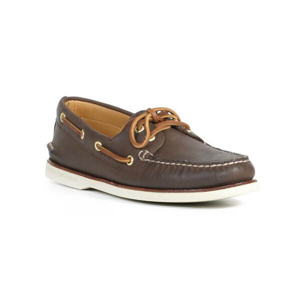 Shop Sperry Men S Brown Gold Cup A O 2 Eye Boat Shoes