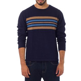 Men's Alpaca 'Marina' Sweater (Peru)