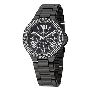 SO&CO New York Women's Madison Quartz Austrian Crystal Stainless Steel Bracelet Watch|https://ak1.ostkcdn.com/images/products/10203571/P17327142.jpg?impolicy=medium