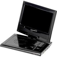 "Supersonic SC-179DVD Portable DVD Player - 9"" Display - 640 x 234 - B"