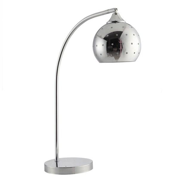 Modern Minimalist Style Chrome Table Desk Lamp