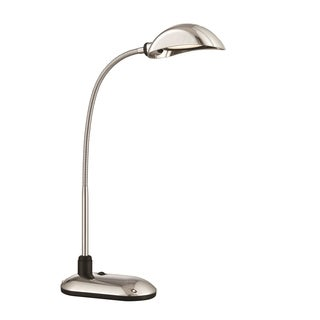 Lite Source Ettore LED Desk Lamp, Chrome