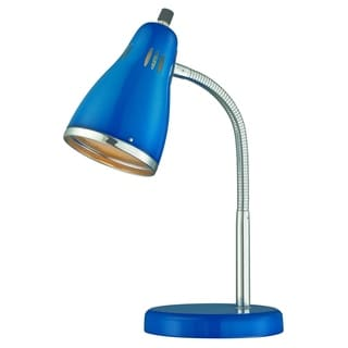 Lite Source Kris Desk Lamp, Blue