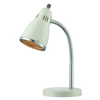 Lite Source Kris Desk Lamp, White