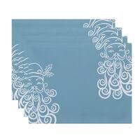 Print Decorative Holiday Saind Nick Table Top Placemat (Set of 4)