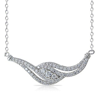 Link to Icz Stones Cubic Zirconia Twist Necklace Similar Items in Necklaces