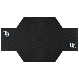 Fanmats Tampa Bay Rays Black Rubber Motorcycle Mat