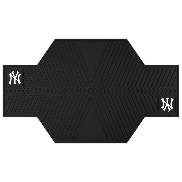 Fanmats New York Yankees Black Rubber Motorcycle Mat