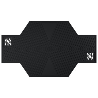Fanmats New York Yankees Black Rubber Motorcycle Mat