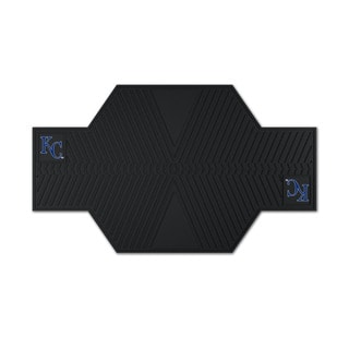 Fanmats Kansas City Royals Black Rubber Motorcycle Mat