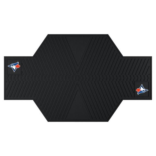 Fanmats Toronto Blue Jays Black Rubber Motorcycle Mat
