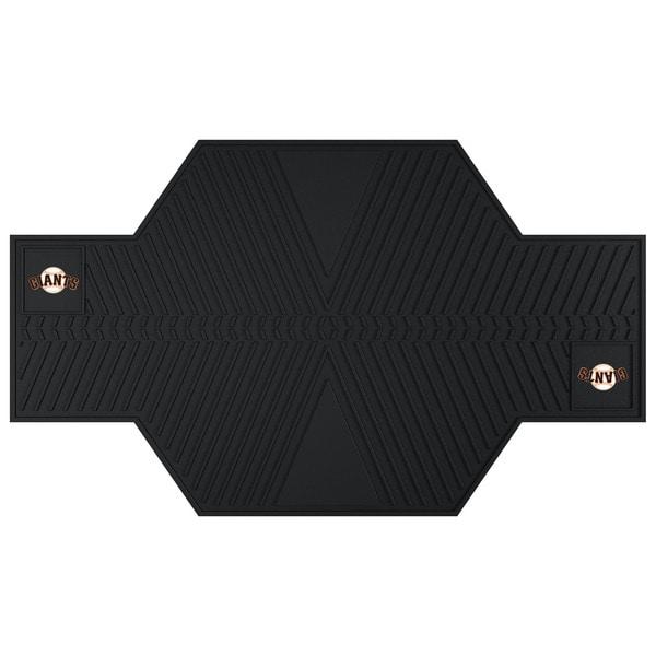 Fanmats San Francisco Giants Black Rubber Motorcycle Mat