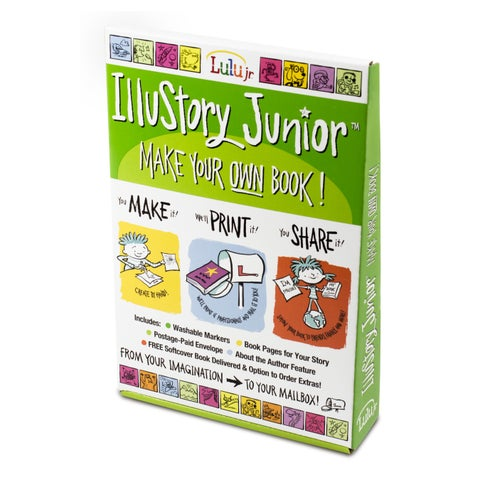 IlluStory Junior - Make Your Own Book!