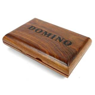 Handcrafted Sheesham Wood Domino Set (India)